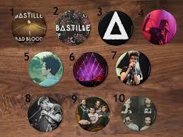 Bastille Bad Blood Bastille Buttons Pins On Storenvy