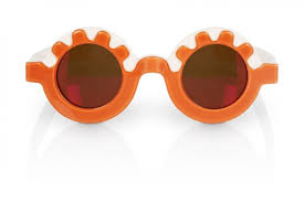 Orange Glasses by Collaborations Lunettes Kollektion