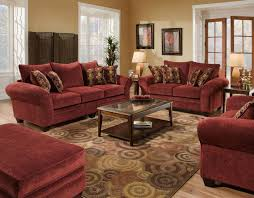 Burgundy Accent Chairs Living Room Burgundy Accent Chair And Sofa Living Room Decorations The