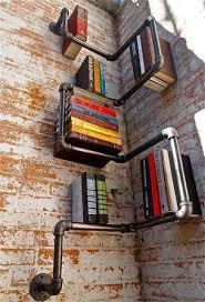 Industrial Bookcase Diy Best 25 Industrial Bookshelf Ideas On Pinterest Diy Industrial