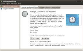 mettre une horloge sur le bureau avoir une horloge sur le bureau d ubuntu ubuntu au quotidien