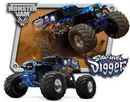 rc monster jam trucks traxxas son uva digger 1 10 scale 2wd monster truck monster jam