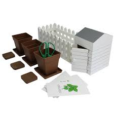indoor allotment herb garden set amazon co uk kitchen u0026 home