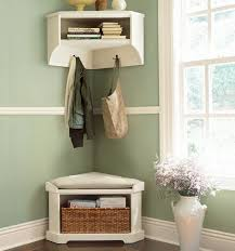 Pottery Barn Shelf With Hooks Wonderful Pottery Barn Entry Bench With Tufted Bench Cushion Below