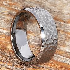 beveled ring silver beveled hammered rings forever metals
