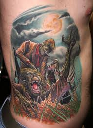 zombies tattoo by zhivko baychev tattoomagz