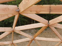 A Frame Kits Your Guide To Wood Frame Dome Home Construction