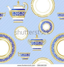 fine china patterns fine china porcelain vector pattern seamless stock vector 388186330