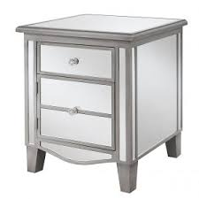 Modern Mirrored Nightstands Bedroom Contemporary Mirrored Nightstand Cheap With Drawer And