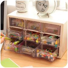 Acrylic Desk Drawer Organizer Multifunctional Office Desk Organizer Plastic Storage Box Jewelry