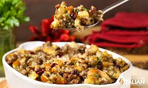 sausage cranberry and apple with