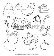 doodles easter coloring book stock vector 161262506