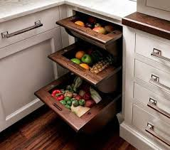 vegetable storage kitchen cabinets smart kitchen storage pull out basket drawers for fruits
