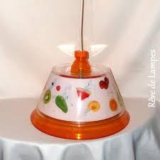 lustre de cuisine lustre suspension de cuisine plastique translucide décoré de