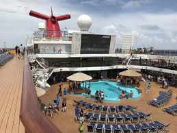 carnival breeze post dry dock tour photos cruise radio