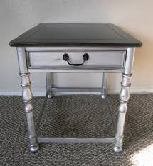 martha stewart end tables silver side table i like this look color polished silver by