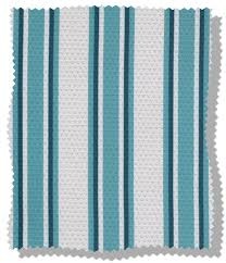 Thermal Blackout Blinds Sunlover Thermal Blackout Teal Striped Roller Blind Ocerti