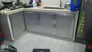 Aluminum Kitchen Cabinet Modular Kitchen Cabinets In Philippines Tehranway Decoration For