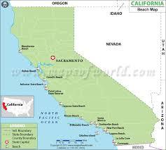 california map laguna map of california beaches best beaches in california