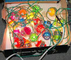 vintage pifco 20 santa lights lanterns lights working boxed