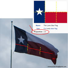 Texaa Flag Centerpointe Communicator Texas Flags Improperly Displayed