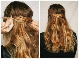 medium length hairstyles from the back braided half up hairstyles hair world magazine