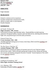 flight attendant resume exle of flight attendant resume http resumesdesign