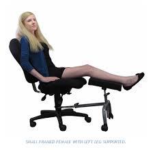 foot elevation under desk ergoup 18 double leg rest