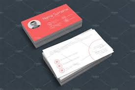 minimalist business card template business card templates