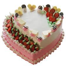 cakes online strawberry heart cake online zoganto