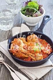cuisine poulet basquaise poulet basquaise recette facile un jour une recette