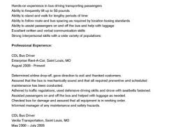 Cdl Resume Sample by Bus Driver Resume Sample Reentrycorps