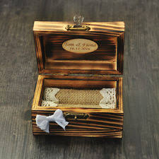 personalized wooden jewelry box engraved jewelry box ebay
