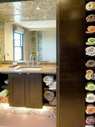 toiletry organizing bathrooms and linen closets corner closet