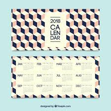 Kalender 2018 Free Creative Calendar 2018 Vector Free