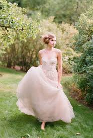 blush wedding dress trend it s all in the details blush wedding dresses thursday trend