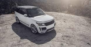 land rover hse white range rover hse sport aero front bumper vorsteiner