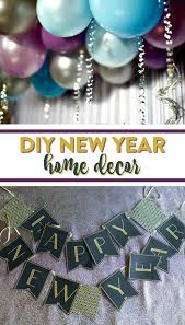 New Year Ornaments Craft Diy New Year Home Decor A Craft In Your Day