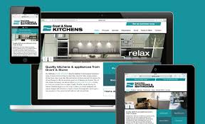 Kitchen Website Design Responsive Website Design For Grant U0026 Stone U0027s Aylesbury Kitchen