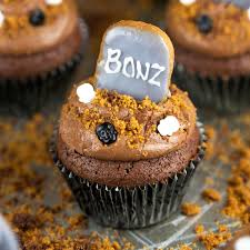 halloween cupcake liners halloween graveyard brownie cupcakes jessica gavin