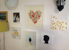 fancy wall decor idea with grand easy diy art design of family