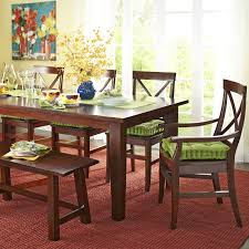 torrance mahogany brown dining armchair pier 1 imports