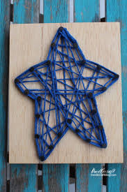 doodlecraft patriotic string art star craft lightning