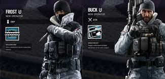 Rainbow Six Siege Operators In Leaked Screens Canadian Operators For Rainbow Six Siege Vgu