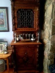 gorgeous belgium oak mechelen buffet heavy wood carvings stained