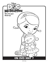 doc mcstuffins disney free coloring pages 10 free kids printable