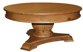 Coffee Table Pedestal Clear Coating Wooden Pedestal Based For Square Wooden Side Table