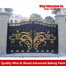 garden iron gate combination of technology and machinery in gates