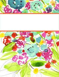 free custom binder cover template instant download binder