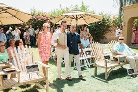 brunch poolside wedding phil becky